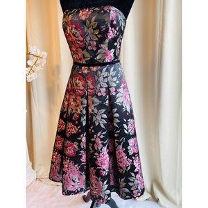 White House Black Market Dresses - Elegant Formal Floral Dress